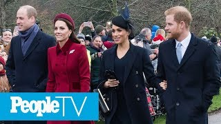 Prince William, Kate Middleton, Prince Harry And Meghan Markle Have Reunited — See Why! | PeopleTV