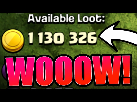 YOU NEED TO FARM HERE!! - 1.5 BILLION GOLD!!! - Clash Of Clans