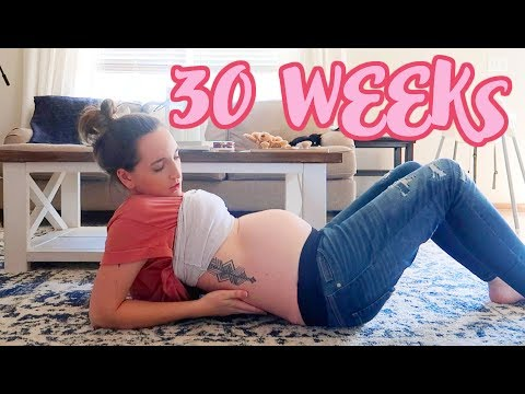 27 Week's Pregnant DITL * Chatty and Motivated * Belly Shot * from YouTube · Duration:  25 minutes 28 seconds