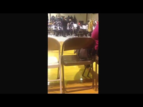 Bottenfield Middle School 2015-2016 Honors Band Charlie Brown Christmas