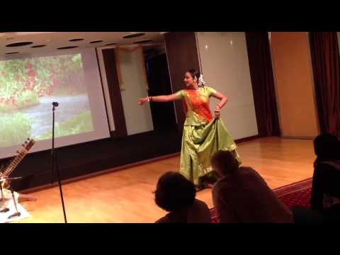 Kathak dance 5c : Indian Cultural Centre Bangkok 27th july