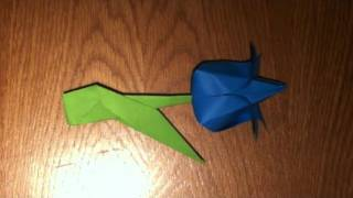 Origami :: Tulip Flower (tutorial)