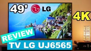TV 4K LG UJ6565 - REVIEW completo!