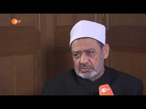 Islam-Angst unbegründet, so Imam al Tayyeb an der Al-Azhar-Universität in Kairo / Ägypten - ZDF