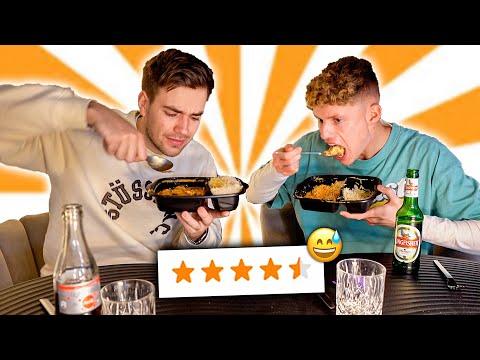 Luca und Max bestellen ZUFÄLLIGES Essen 🤤🍴