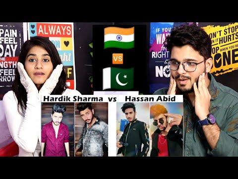 indian-reaction-on-hassan-abid-vs-hardik-sharma-transformation-tik-tok-|-pakistan-vs-india-tik-tok