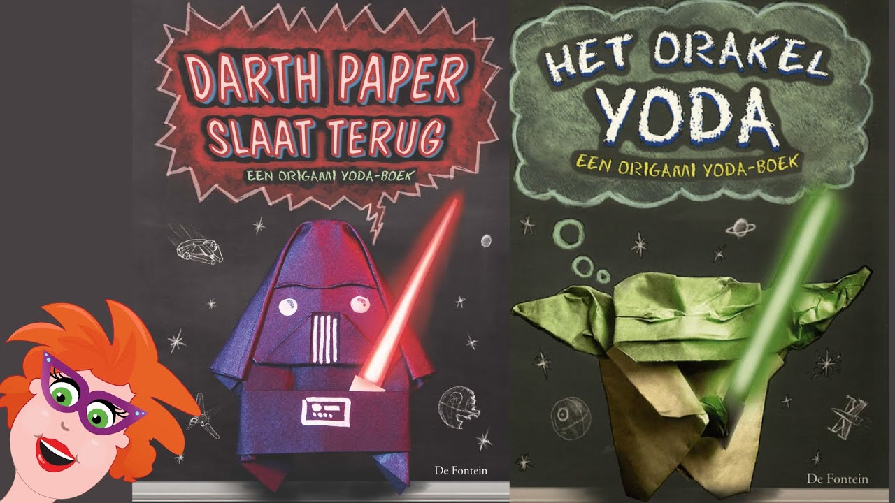 Origami Star Wars Boeken Met Yoda En Darth Vader Youtube