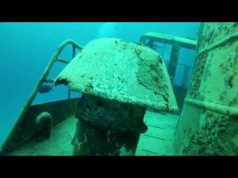 Bermuda Scuba Diving May 2014 - Wrecks