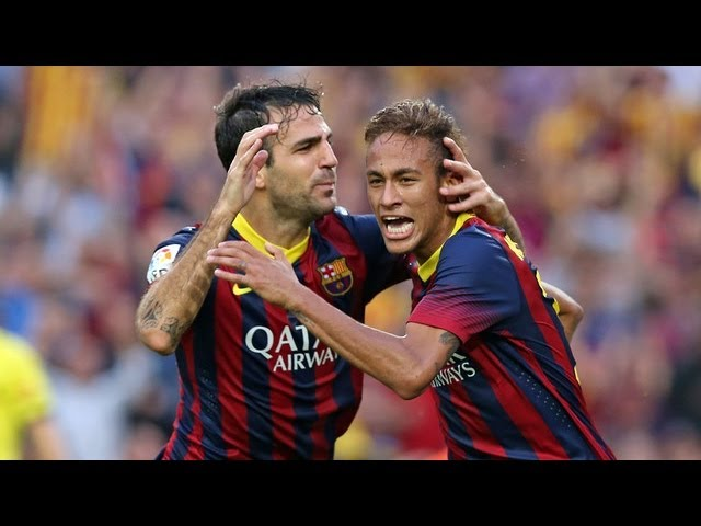 Barcelona  vs Real Madrid (2-1) All Goals & Highlights 26.10.2013 Neymar Show Travel Video