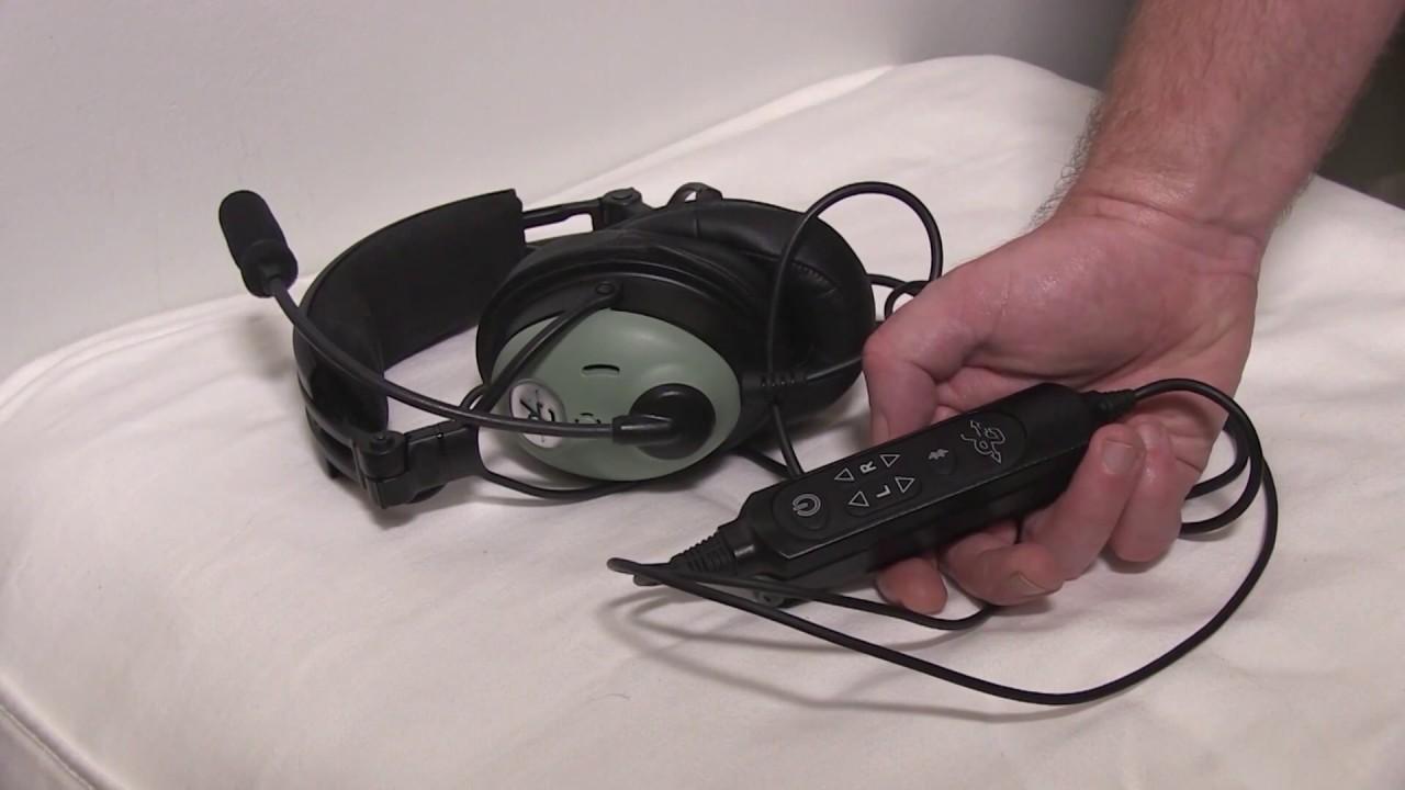 c475fa9cefa David Clark ONE-X Headset Review - YouTube