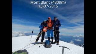 Mont Blanc July 2015 (normal route)