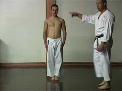 GOJU RYU KARATE - THE SANCHIN KATA