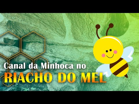 RIACHO DO MEL no Canal da Minhoca - Iraquara (Bahia)