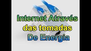 Internet através das tomadas de energia com powerline tp link