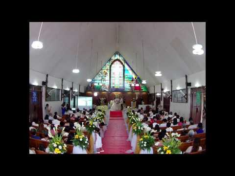 Wedding of Caloy & Shayie in time lapse video