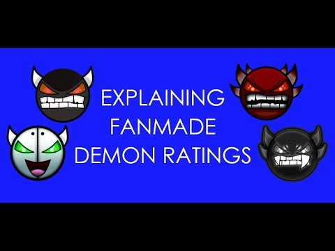 Explaining Fanmade Demon Ratings Geometry Dash 21 Youtube