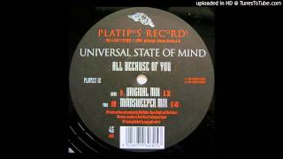 Universal State Of Mind~All Because Of You [Mindsweeper Mix]
