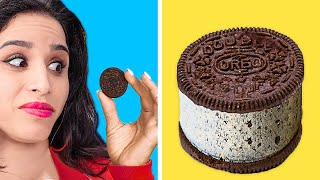YUMMY FOOD HACKS AND FUNNY TRICKS || Easy DIY Food Tips by 123 GO! GOLD