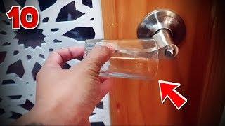 10 วิธี การเอาชีวิตรอด ในต่างแดน (เสียบแก้วกับลูกบิด กันโจรได้ !!) | OKyouLIKEs