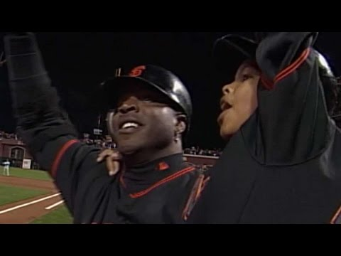 Vin Scully's call of Barry Bonds' record breaking HR