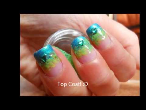 Nail art carnevale poison ivy youtube nail art carnevale poison ivy prinsesfo Image collections