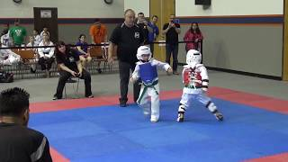 Round Robin Tournament 2019 Khamrin 1st fight