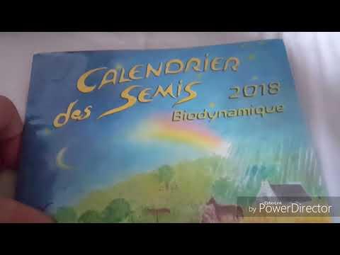 Calendrier Des Semis Biodynamique.Le Calendrier Des Semis 2019 Biodynamique Youtube