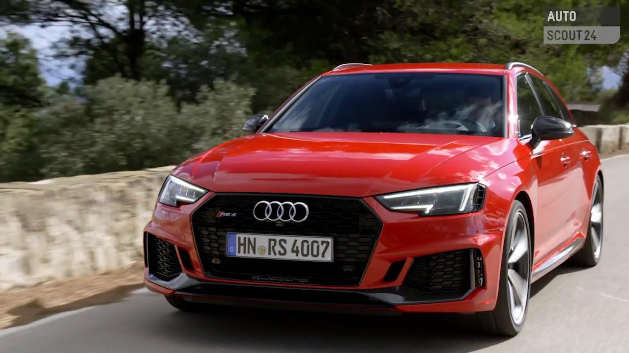 Audi Rs4 Avant 2018 Im Test Autoscout24 Youtube