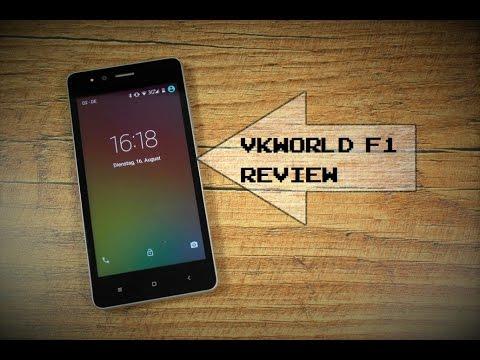 China Phone unter 50€: VKWorld F1 Review - Deutsch