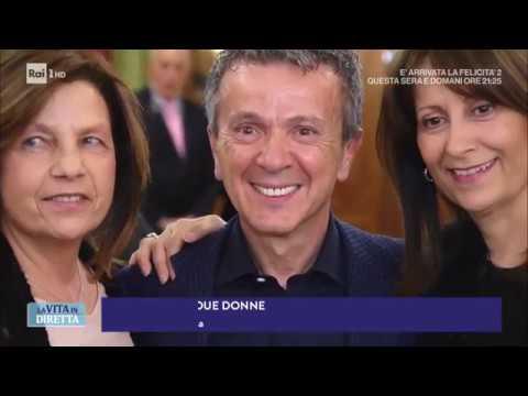 """Download Pupo e le sue donne: """"Ho due mogli. Vi spiego come ho fatto... """" - La Vita in Diretta 20/02/2018"""