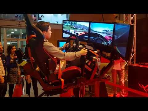 Simulador coche F1 - Rally Realidad Virtual