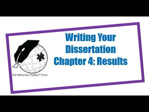 Dr Cheryl Lentz Chapter 4 Results Dissertation Writing Tips