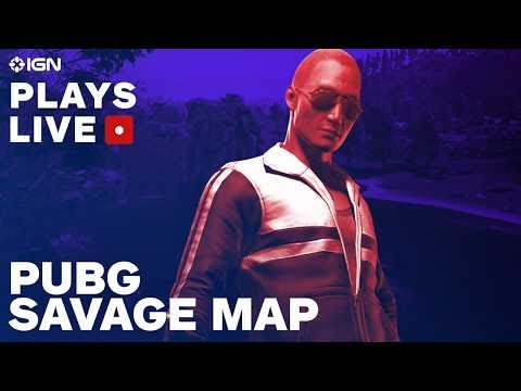 how to play savage map pubg