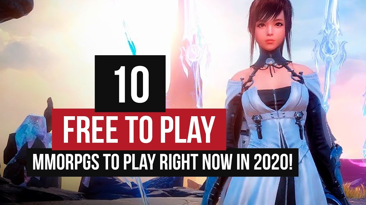 The Best Free to Play MMORPGs to Play RIGHT NOW In 2020!
