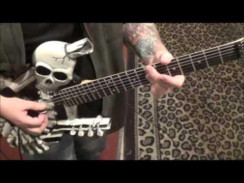 Van Halen - House Of Pain - CVT Guitar Lesson by Mike Gross(part 1)