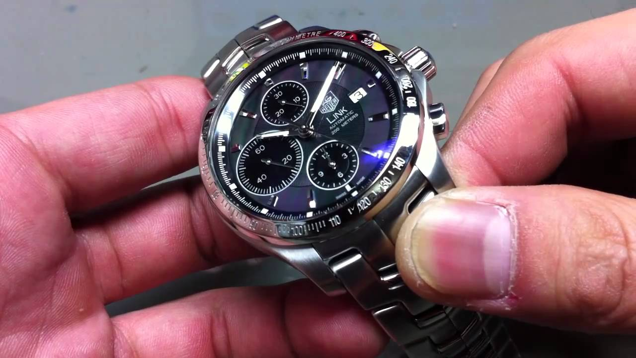 the best attitude 2419e f78b8 【TAGHeuer】リンク ムーンパール クロノグラフ 日本限定