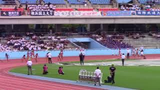 2018日本インカレ陸上 女子4×100mR 予選1~5