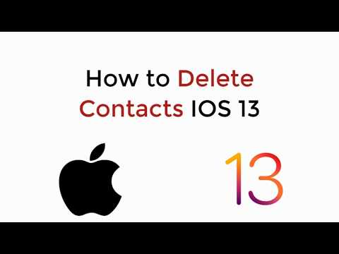 How to Delete a Contact - iPhone 6.