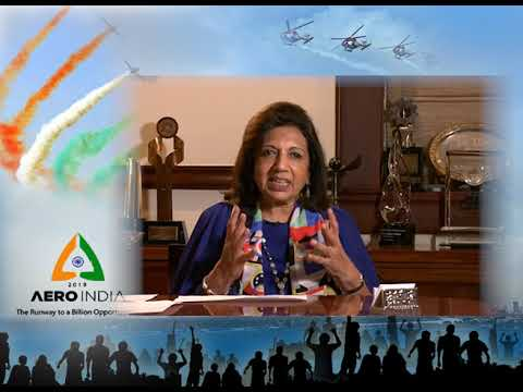 Biocon Chairperson Kiran Mazumdar-Shaw on Aero India 2019 | Kannada Version | DD Chandana