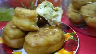 Жареные пирожки с картошкой | Быстро и по домашнему вкусно