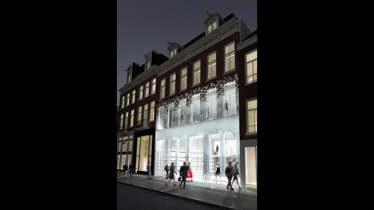 Glazen Bakstenen In De P C Hooftstraat Youtube