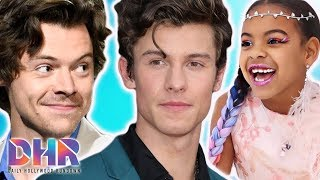 Harry Styles Doesn't Know How To PRONOUNCE Shawn Mendes?! Blue Ivy WINS Her First Music Award! (DHR)
