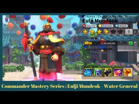Commander Mastery Series : Eulji Mundeok - The Water General