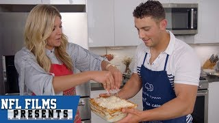How Layers of Lasagna Are Similar to Giorgio Tavecchio's NFL Career | NFL Films Presents