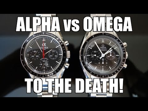 Moonwatch Face-Off! Alpha Mechanical Chronograph vs Omega Sp