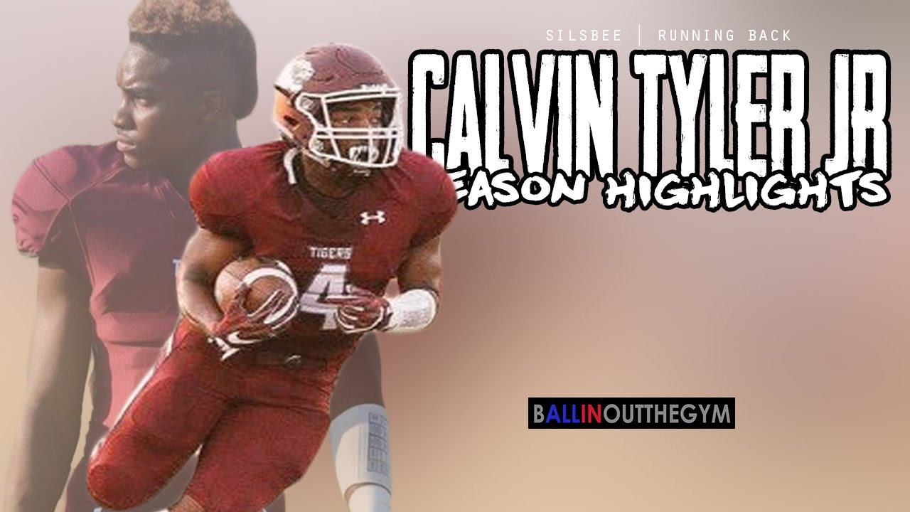 Calvin Tyler Jr's #BoogerSeason : (2016 Silsbee Football Highlights)