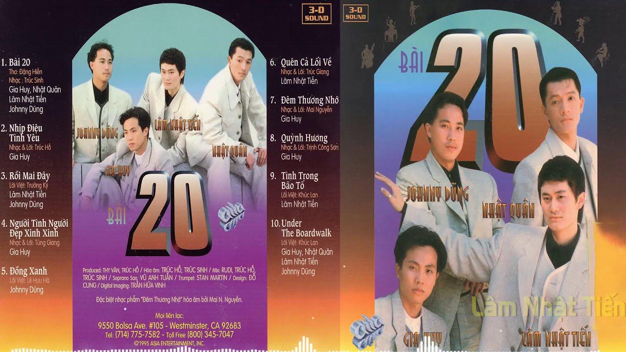 Bài 20 | Asia CD081 - Lâm Nhật Tiến, Johnny Dũng, Gia Huy, Nhật Quân