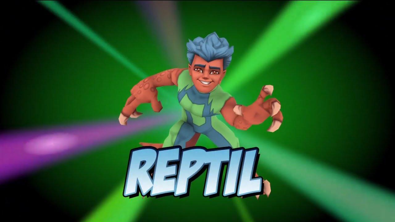 Super Hero Squad Online  Reptil Vignette  Youtube