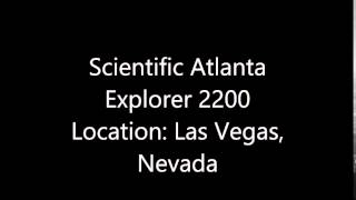 scientific atlanta explorer 2200 location las vegas nevada