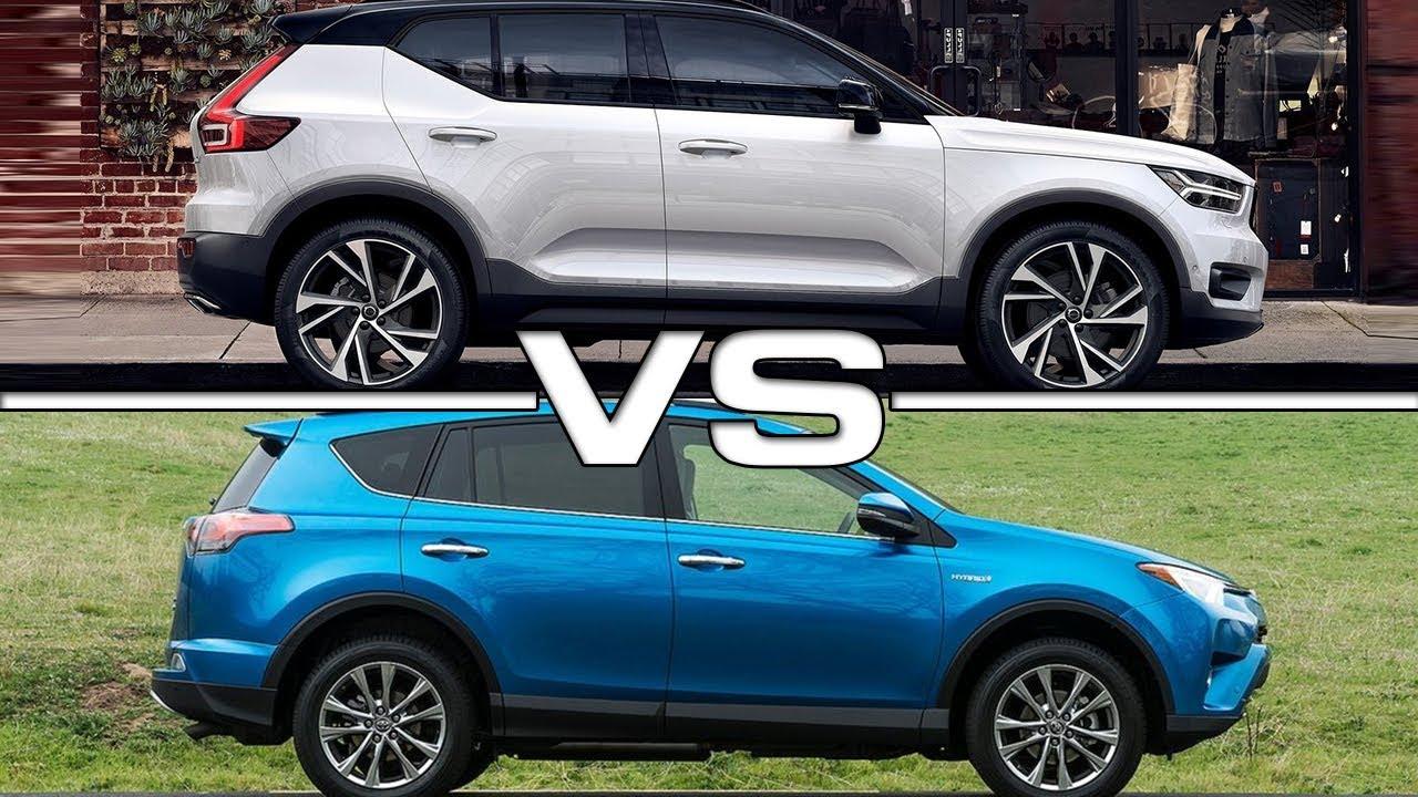2018 Volvo XC40 vs 2017 Toyota RAV4 - YouTube
